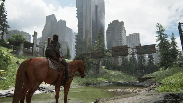 The Last of Us 2: Ellie reitet mit dem Pferd durch Seattle