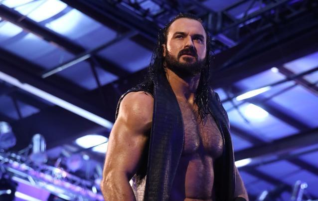 Drew McIntyre in der WWE mit dem Titel