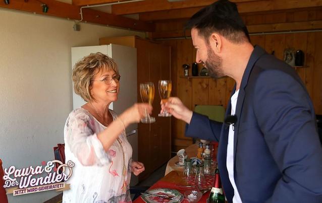 Michael Wendler betrinkt sich mit Schwiegermutter Gaby
