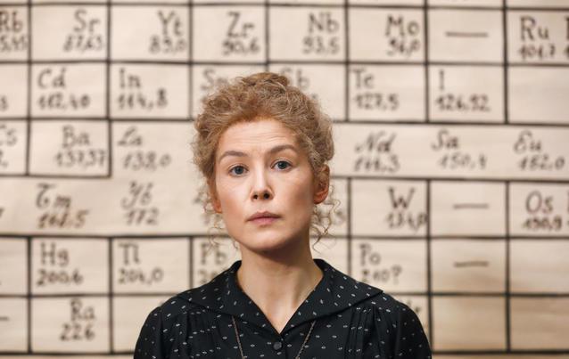 Marie Curie: Rosamund Pike