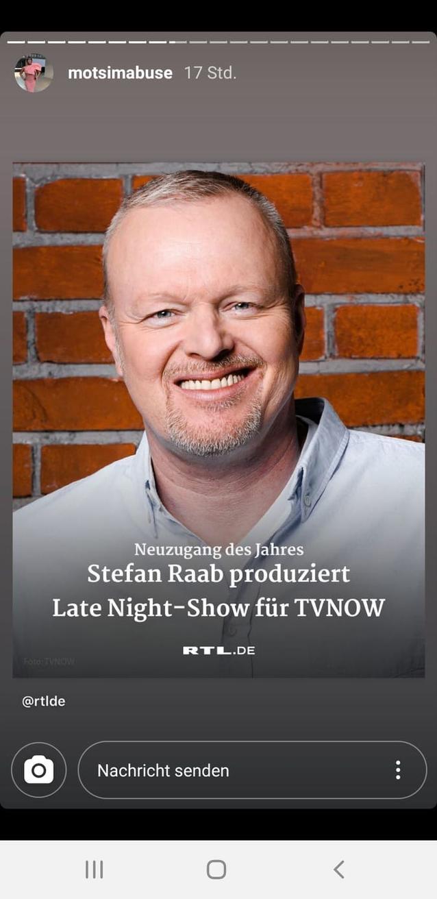 Motsi Mabuse rührt die Werbetrommel für Stefan Raabs neue Late-Night-Show