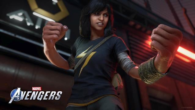 Kamala Khan bei den Avengers