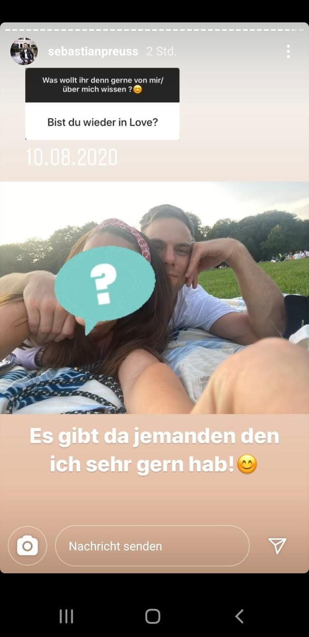 """Wer ist Sebastian Preuss' neue Freundin? Handelt es sich dabei um """"Bachelor""""-Finalistin Diana"""
