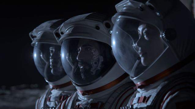 Away Netflix Astronauten