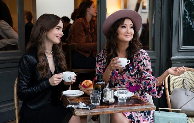 Emily in Paris Netflix Café