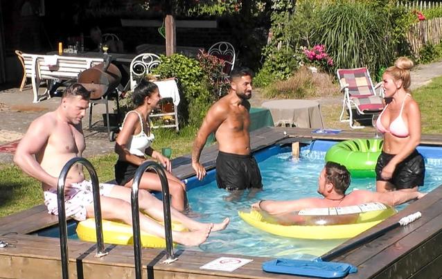 Sommerhaus der Stars Pool
