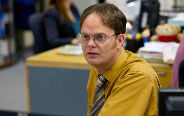 """Rainn Wilson in """"The Office"""" als Dwight Schrute"""