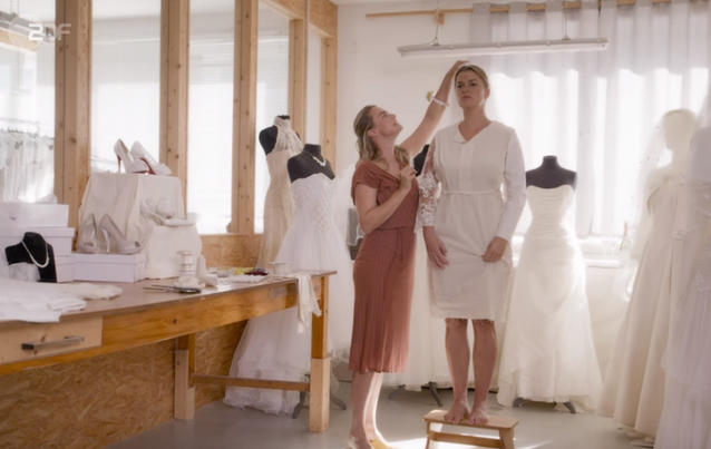 Der Bergdoktor: Anne im Brautkleid