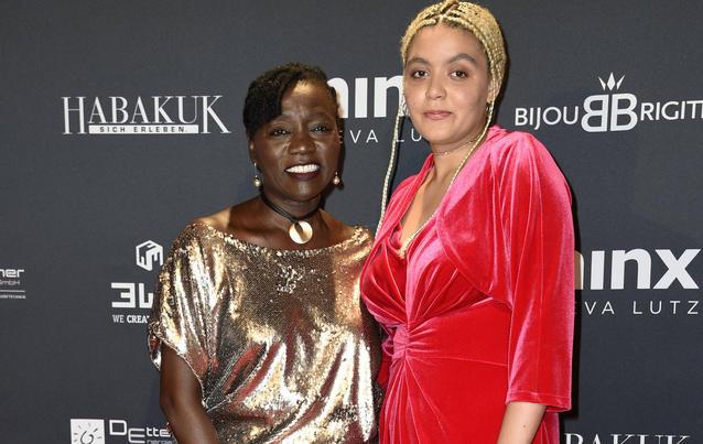 Auma Obama und Tochter Akinyi Manners