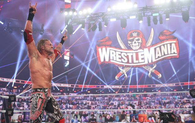 Edge Royal Rumble Sieg