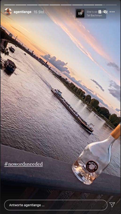 Jennys Ausblick auf den Kölner Rhein