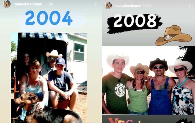 Die Reimanns: 2004 und 2008