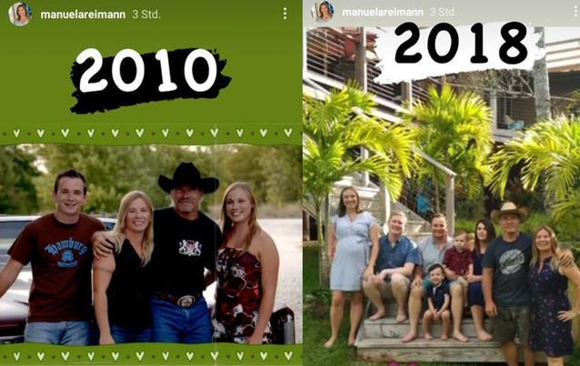 Die Reimanns: 2010 und 2018