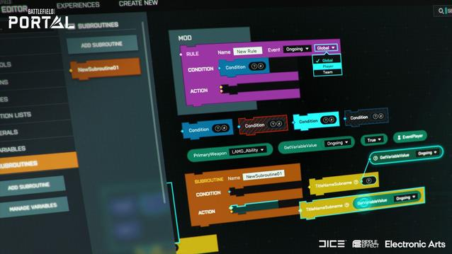 Battlefield Builder Modus