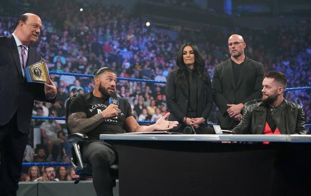 Roman Reigns Finn Balor WWE