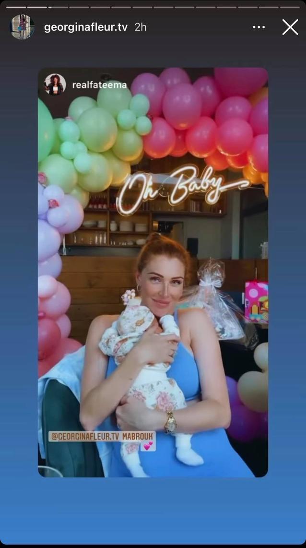 Georgina Fleur erzählt neue Details über ihr Baby G.