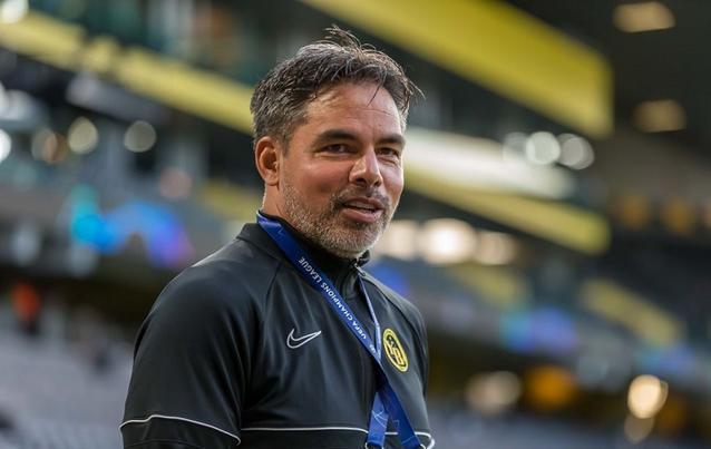 Trainer David Wagner hofft auf einen Überraschungserfolg gegen Manchester United.