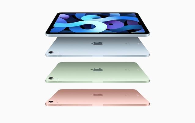 Das iPad Air gibt es in vielen Farben.