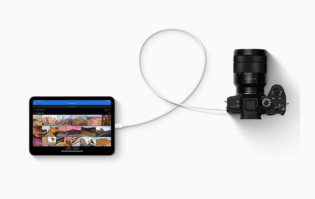 Die neueren iPad-Modelle besitzen einen USB-C-Anschluss.