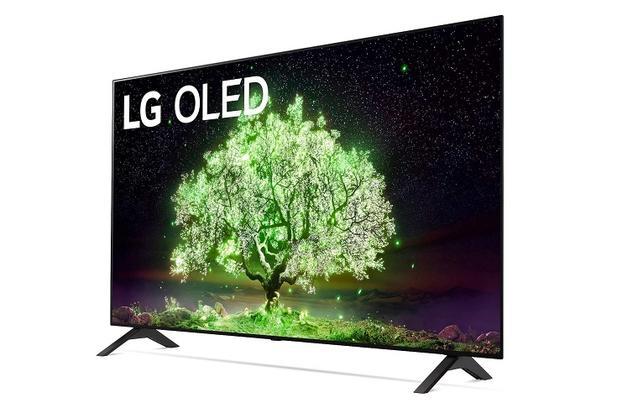 Das Einstiegsmodell der OLED-Fernseher: LG OLED48A19LA.