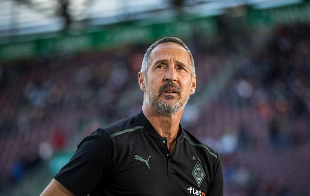 Der neue Gladbach-Trainer Adi Hütter legte einen Stolperstart hin.