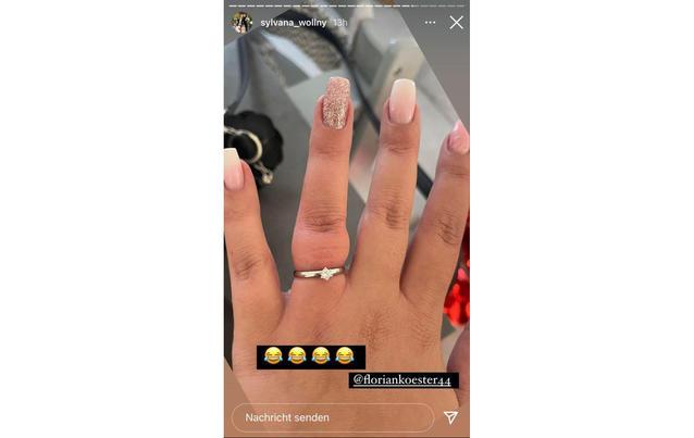 Sylvana Wollnys Ring-Problem