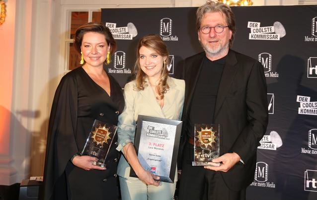 Karolina Lodyga, Lara Mandoki and award winners Michael Fitz
