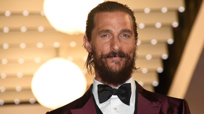 Matthew McConaughey in Cannes 2015