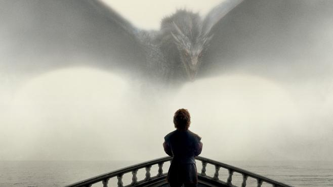 Game of Thrones Drache und Tyrion