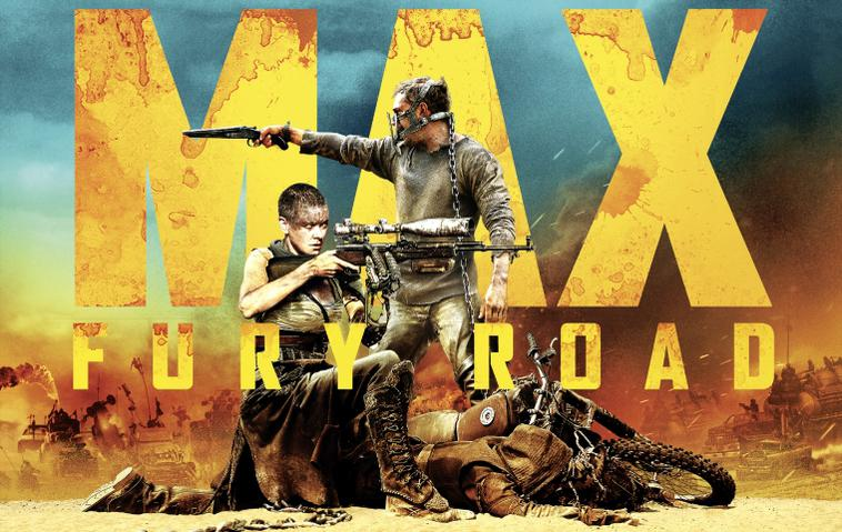 Mad Max: Fury Road mit Tom Hardy und Charlize Theron