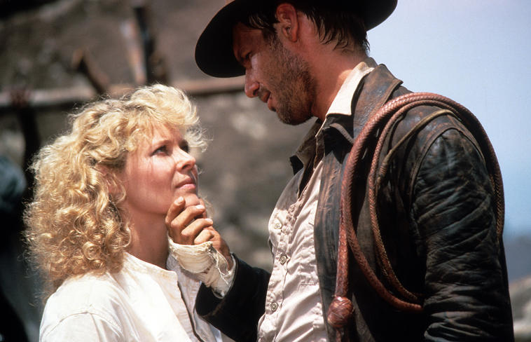 Kate Capshaw, Steven Spielberg, Indiana Jones