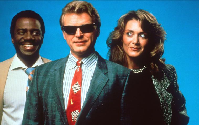 David Rasche als Sledge Hammer im Jahr 1988