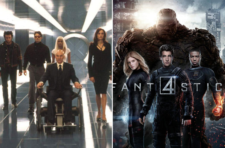 X-Men, Fantastic Four