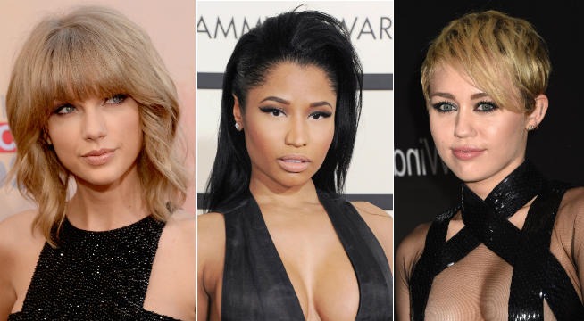 MTV VMA, MTV VMAs, Miley Cyrus, Nicki Minaj, Taylor Swift