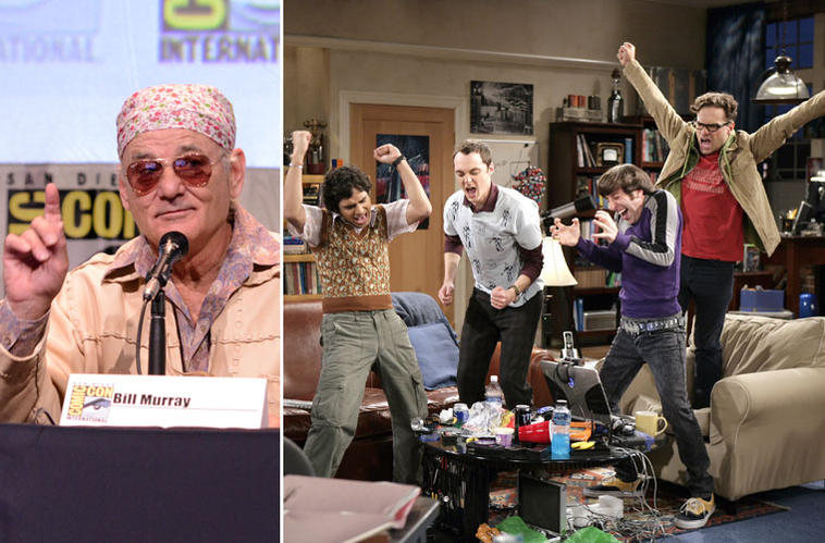 Bill Murray, The Big Bang Theory