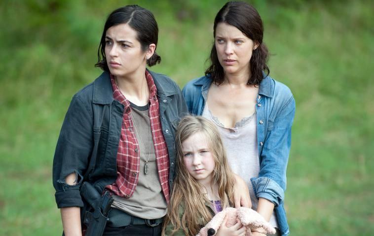 "Alanna Masterson in ""The Walking Dead"""