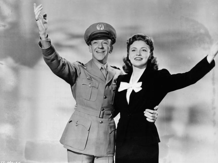 Joan Leslie und Fred Astaire in The Sky's The Limit