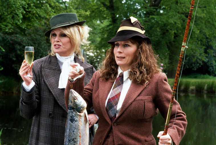 Absolutely Fabulous Jennifer Saunders Johanna Lumley