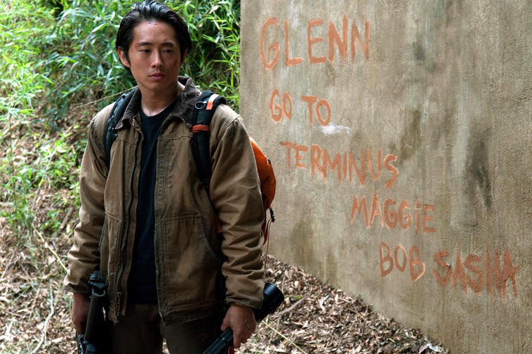 Glenn aus The Walking Dead