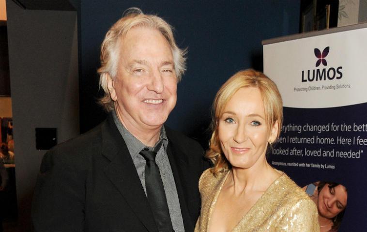 Alan Rickman J.K. Rowling