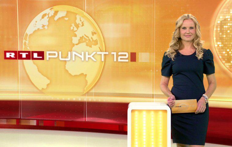 """""""Punkt 12""""-Moderatorin Katja Burkard"""
