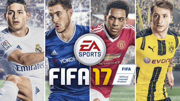 FIFA 17 Cover
