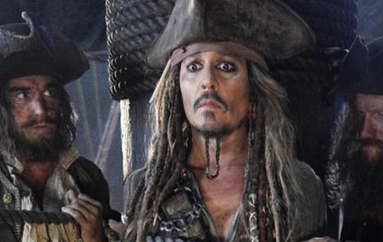 "Johnny Depp in ""Fluch der Karibik 5"""