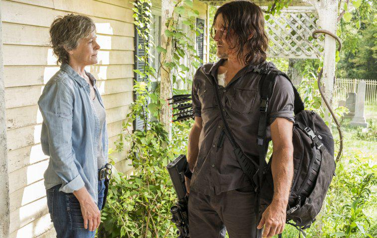 "Carol und Daryl bei ""The Walking Dead"" TWD 710"
