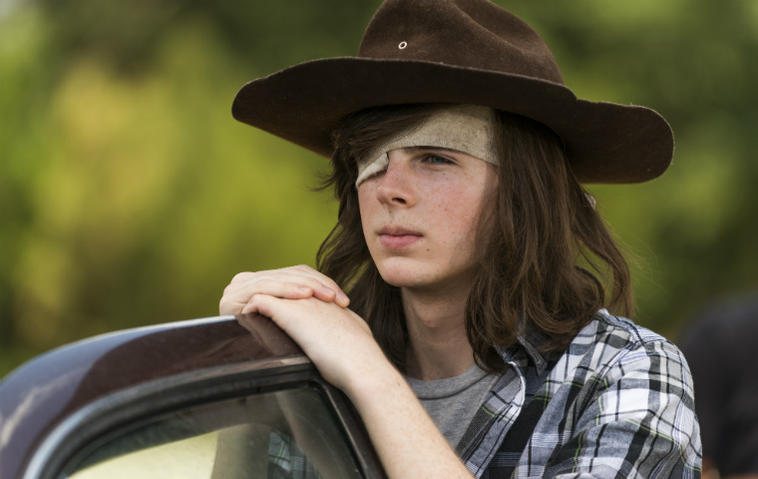 Carl Grimes Walking Dead
