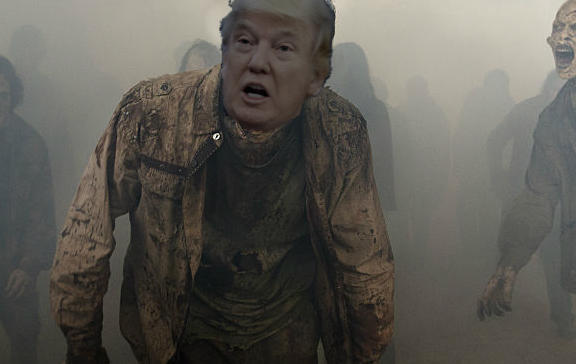 Donald Trump The Walking Dead