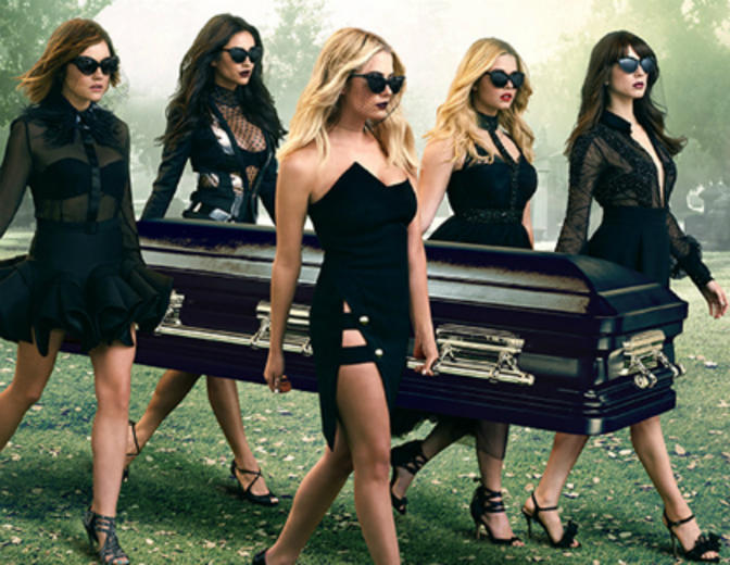 "Serien wie ""Pretty Little Liars"""