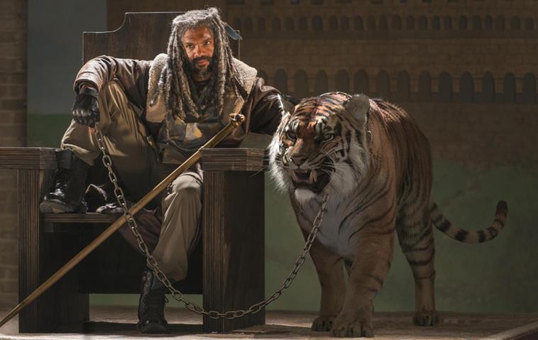 """""""The Walking Dead"""", Staffel 7 - Ezekiel und Tiger Shiva"""