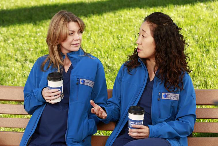 """Grey's Anatomy"": Sandra Oh/Christina Yang und Ellen Pompeo/Meredith Grey"