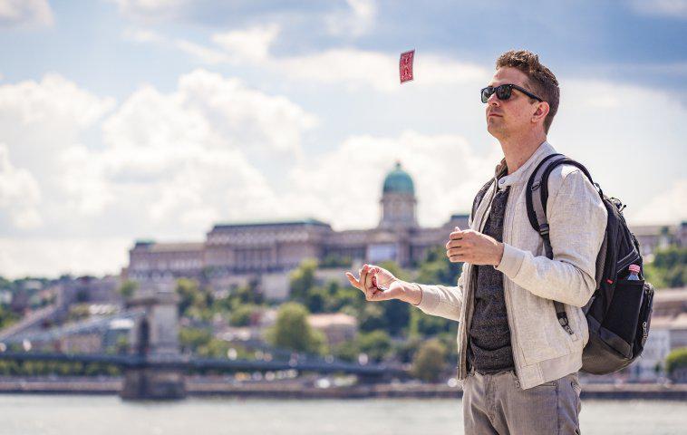"""The Road Trick"": Adam Trent in Budapest"